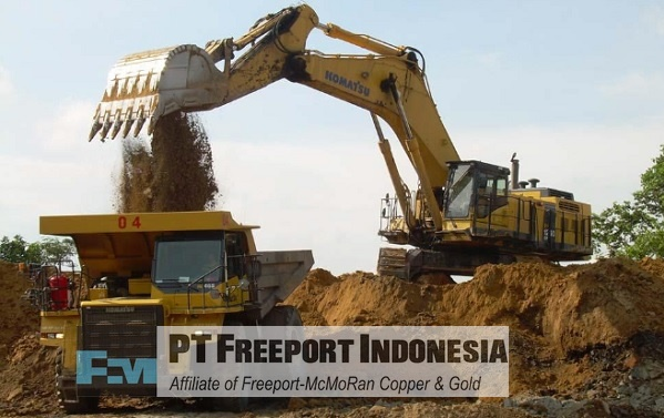 Freeport to cut stake in Indonesia mine after gov't pressure