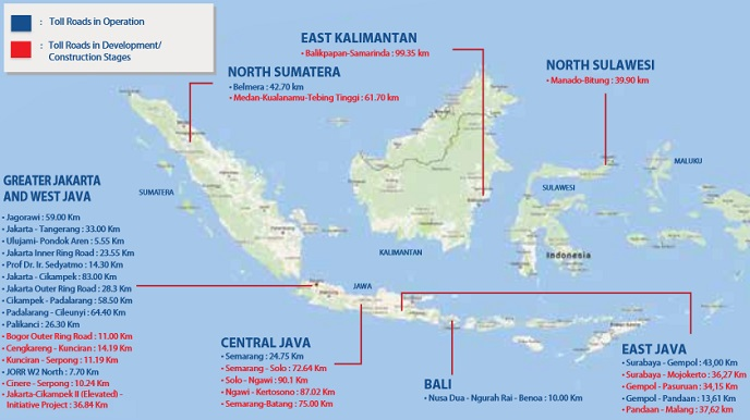 Jasa Marga Toll Roads Indonesia Investments