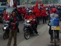 Demonstration Indonesian Workers: Protest against Layoffs & Demanding for Higher Wages