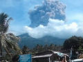 Volcanic Eruption Indonesia: Sileri Crater at Dieng Plateau