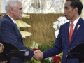 Diplomatic & Trade Relations Indonesia: US VP Pence Met Jokowi