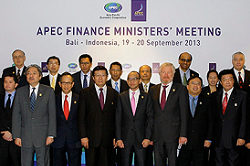 Official Joint Ministerial Statement of 2013 APEC Finance Ministers' Meeting